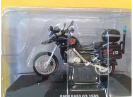 MAGAZINE MODELS 1:24 - BMW F650 GS 1999 *CARABINIERI*, BLUE