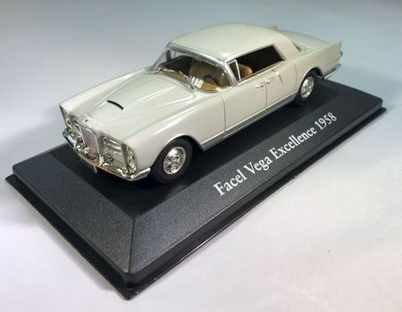 MAGAZINE MODELS 1:43 - FACEL VEGA EXCELLENCE 1958