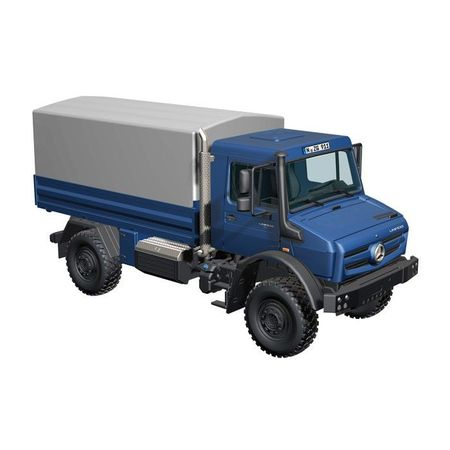 NZG 1:50 - Mb Unimog U 5000, Tarpaulin 'Blue'