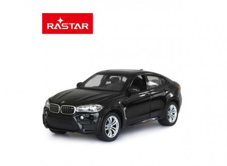 RASTAR 1:24 - BMW X6M 2018, BLACK