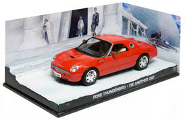 ATLAS 1:43 - FORD THUNDERBIRD JAMES BOND 'DIE ANOTHER DAY'