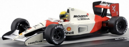 ATLAS 1:43 - MCLAREN MP4/6 AYRTON SENNA WORLD CHAMPION FORMEL 1