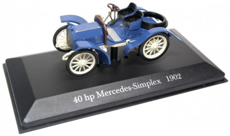 ATLAS 1:43 - MERCEDES BENZ 40 HP MERCEDES-SIMPLEX 1902, BLUE