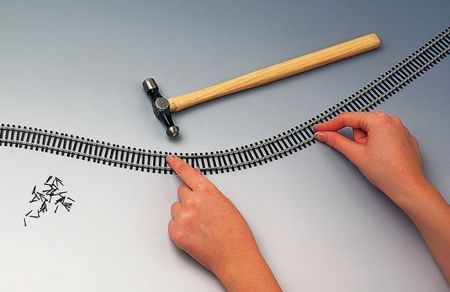 HORNBY  HO / OO (1:87 / 1:76) - Flexible Track (970 mm)