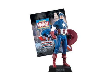 MAGAZINE MODELS 1:21 - CAPTAIN AMERICA CLASSIC MARVEL FIGURINE 'RESIN SERIES'