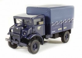 OXFORD 1:76 - CMP LAA TRACTOR ROYAL, ALBASTRU