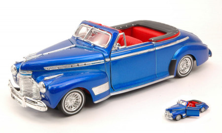 WELLY 1:24 - CHEVROLET SPECIAL DELUXE 1941 METALLIC BLUE