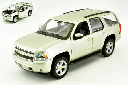 WELLY 1:24 - CHEVROLET TAHOE 2008 SILVER