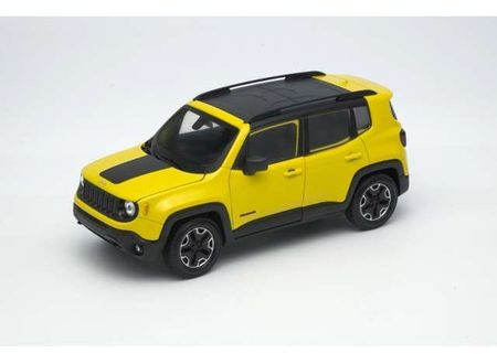 WELLY 1:24 - JEEP RENEGADE 2017 TRAILHAWK, YELLOW