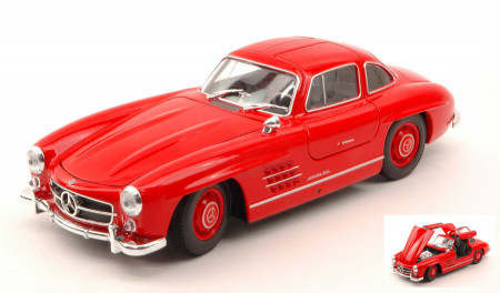 WELLY 1:24 - MERCEDES 300 SL 1954 RED
