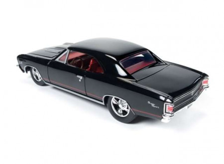 AUTO WORLD 1:24 - CHEVROLET CHEVELLE SS 1967, BLACK