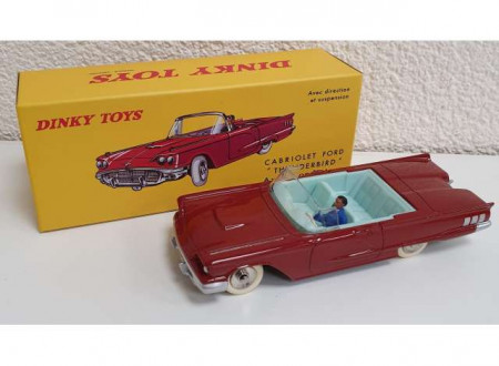 DINKY TOYS 1:43 - FORD THUNDERBIRD, RED