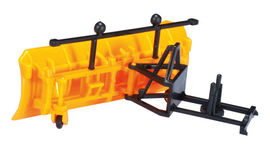 """HERPA 1:87 - Accessory snowplow and grit container """"communal"""""""