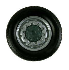 HERPA 1:87 - All-wheels for the front axle, 2-part, 8 wheelsets