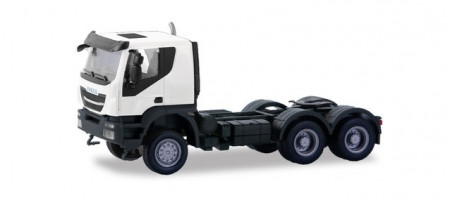 HERPA 1:87 - Iveco Trakker tractor 6×6, white