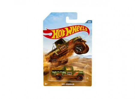 HOTWHEELS 1:64 - JEEP SCRAMBLER #040 OFF ROAD TRUCKS SERIES