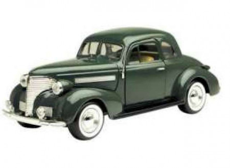 MOTORMAX 1:24 - CHEVROLET COUPE 1939, GREEN