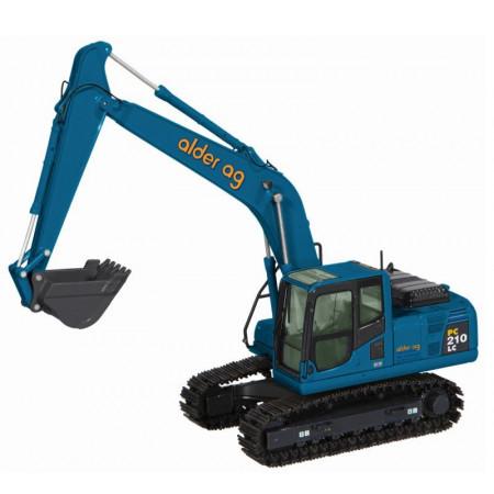 NZG 1:50 - Komatsu PC200 Excavator - Alder AG