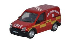 OXFORD 1:76 (00) - Ford Transit Connect Cork City Fire Brigade