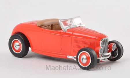 RICKO 1:87 - FORD DEUCE, RED