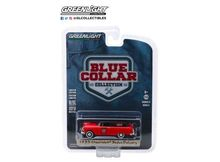 GREENLIGHT 1:64 - CHEVROLET SEDAN 1955 DELIVERY 'MARVEL MYSTERY OIL' BLUE COLLAR COLLECTION SERIES 5, RED/BLACK