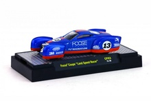M2 MACHINES 1:64 - FOOSE COUPE RACE VERSION, 'CHIP FOOSE 2ND RELEASE', BLUE