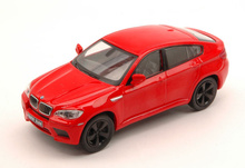 SOLIDO 1:43 - BMW X6 M 2007 RED