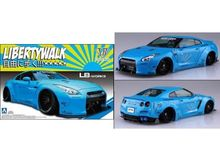 AOSHIMA 1:24 - LB WORKS R35 GT-R VERSION 1, PLASTIC MODELKIT