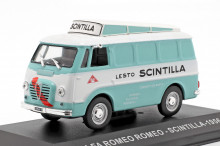 ATLAS 1:43 - ALFA ROMEO 238 SCINTILLA 1956, LIGHT BLUE