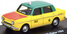 ATLAS 1:43 - SIMCA 1000 DAKAR TAXI 1964, YELLOW/GREEN