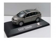 DEALER MODEL 1:43 - SEAT TOLEDO III (2004/2009) *IN SEAT DEALER PACKAGING*, GREY