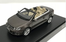 DEALER MODEL 1:43 - VOLKSWAGEN EOS 2011 - BLACK OAK MET. (MET BROWN)