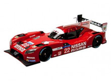 EBBRO 1:43 - NISSAN GT-R LM NISMO 2015 #22 24H LE MANS, RED/WHITE