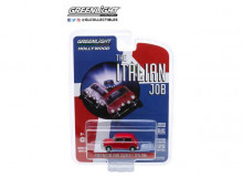 GREENLIGHT 1:64 - AUSTIN MINI COOPER S 1967 1275 MKI THE ITALIAN JOB (1969) *HOLLYWOOD SERIES 28*, RED WITH BLACK L