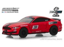 GREENLIGHT 1:64 - FORD MUSTANG SHELBY GT350 2016 FORD PERFORMANCE RACING SCHOOL GT350 TRACK ATTACK #3 *HOBBY E