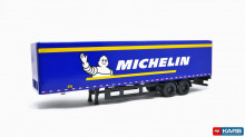 GREENLIGHT 1:64 - MACK ANTHEM 2019 18 WHEELER TRACTOR-TRAILER *MICHELIN TIRES*