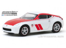 GREENLIGHT 1:64 - NISSAN 370Z 2020 COUPE 50TH ANNIVERSARY *TOKYO TORQUE SERIES 8*, WHITE/RED