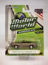 GREENLIGHT 1:64 - PONTIAC FIREBIRD TRANS AM 1999 CONVERTIBLE, GREY