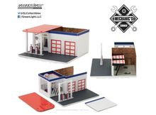 GREENLIGHT 1:64 - VINTAGE GAS STATION 'CHEVRON' MECHANIC'S CORNER SERIES 2