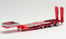 HERPA 1:87 - Goldhofer Allrounder Trailer 3-axle, red