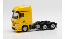 HERPA 1:87 - Mercedes-Benz Actros Gigaspace 6x4 rigid tractor, yellow