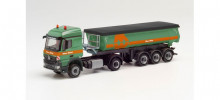 "HERPA 1:87 - Mercedes-Benz Arocs L thermal insulation trough semitrailer ""Max Wild"""