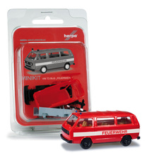 "HERPA 1:87 - MiniKit: VOLKSWAGEN T3 Bus ""fire department"""