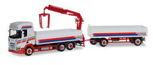 HERPA 1:87 - SCANIA CR HIGH ROOF PICK-UP TRUCK WITH LOADING CRANE 'SPEDITION FÜRMETZ'