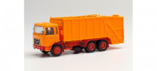 HERPA (MINIKIT) 1:87 - Roman Diesel press garbage truck, orange
