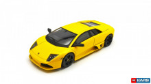 HOT WHEELS 1:43 - LAMBORGHINI MURCIELAGO LP640, YELLOW