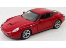 HOTWHEELS 1:18 - FERRARI 575 GTZ ZAGATO 2006 *FOUNDATION SERIES*, RED