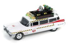 JOHNNY LIGHTNING 1:64 - GHOSTBUSTERS 1A 1959 CADILLAC *SILVER SCREEN SERIES*