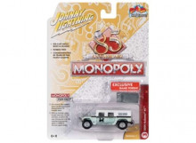 JOHNNY LIGHTNING 1:64 - MONOPOLY 2004 HUMMER H1, LIGHT GREEN/WHITE