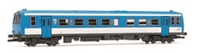 Jouef HO (1:87) - Diesel Railcar X2100 light blue/white, Epo ch V
